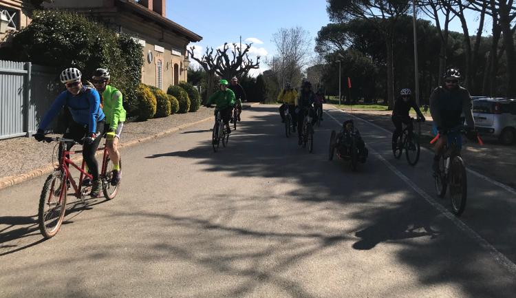 Hanbike e mountain tandem in azione