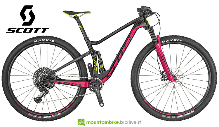 mtb top da donna Scott Contessa Spark RC 900 2019