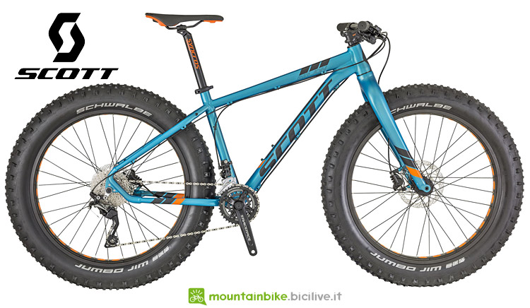 fat bike Scott Big Jon 2019