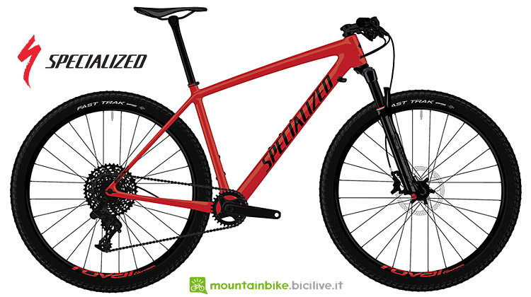 mtb HT da XC Specialized Epic Comp Carbon 2019
