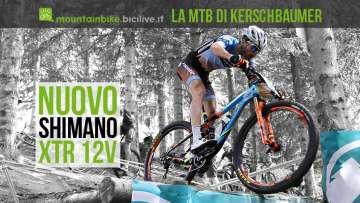 Gerhard Kerschbaumer in sella alla Torpado con il nuovo Shimano XTR