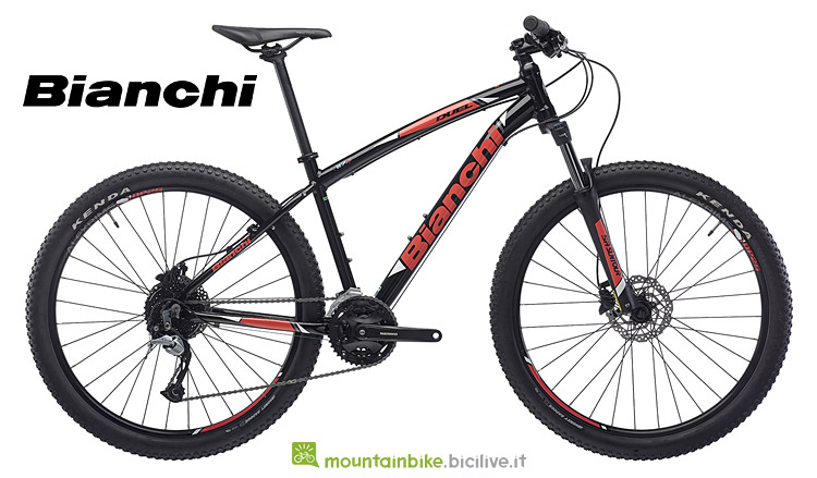 MTB in alluminio entry-level Bianchi Duel 2019