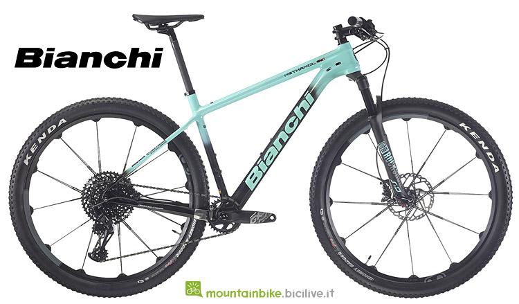 Bianchi Methanol CV S 9.2  con pneumatici Kenda
