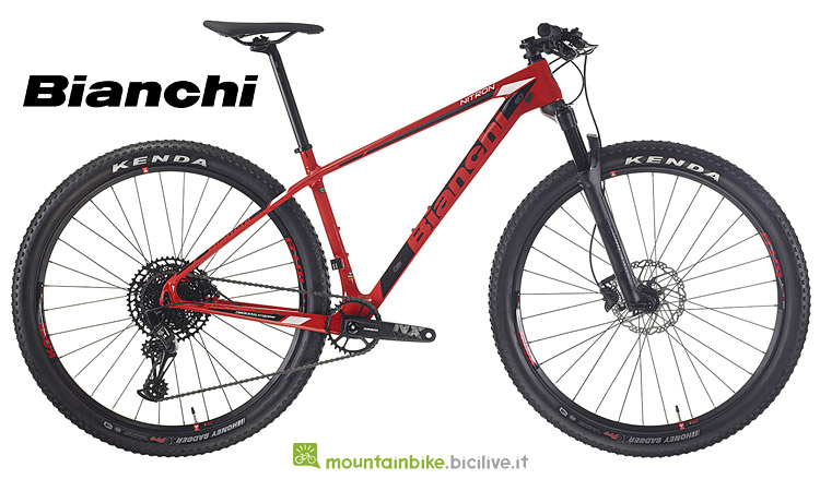 MTB in carbonio economica Bianchi Nitron 2019