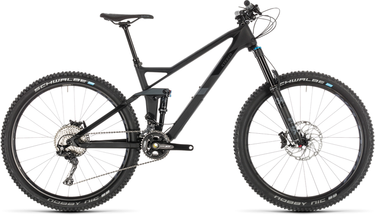 la mtb da all mountain Cube Stereo 140 SL27.5