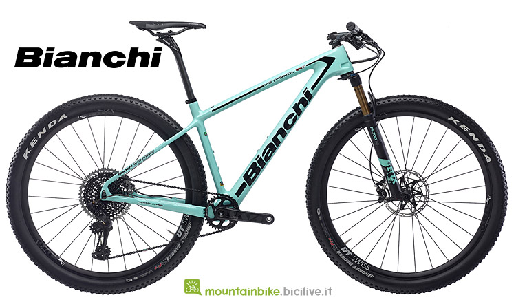 MTB da XC in carbonio Bianchi Methanol CV RS 2019