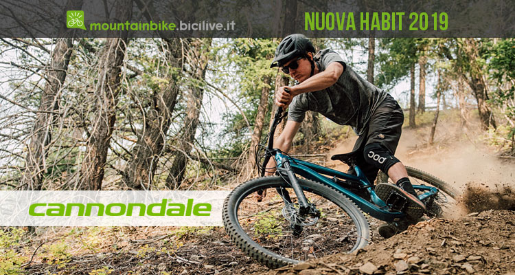 nuova trail bike Cannondale Habit 2019