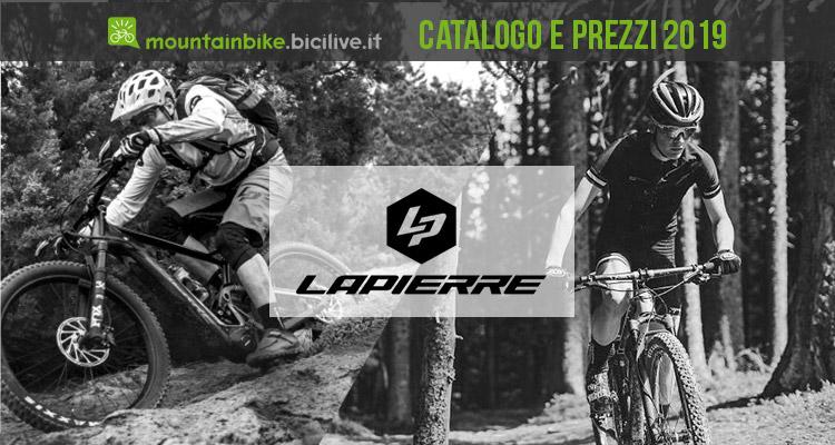 Catalago listino prezzi lapierre 2019