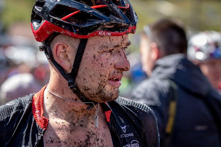biker motivato prima di una gara