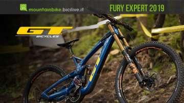 nuova MTB da DH GT Fury Expert 2019