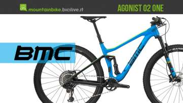 Mountain bike BMC Agonist 02 One 2019