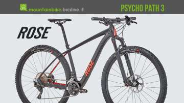 La Psycho Path 3 mtb da cross country da Rose Bikes