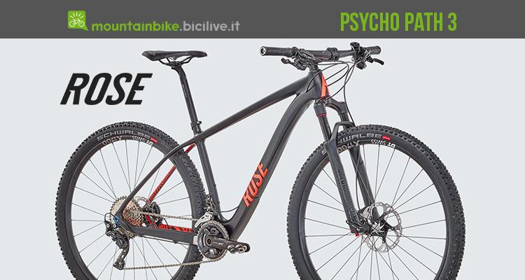 La Psycho Path 3 mtb da cross country da Rose Bikes