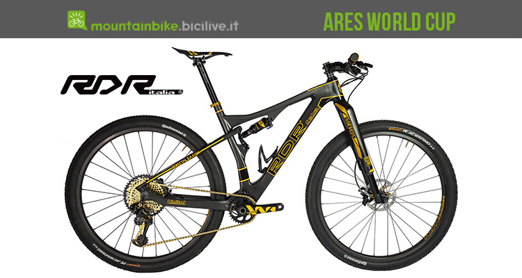 RDR Ares World Cup la XC in carbonio tutta made in Italy