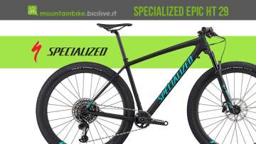 Specialized Epic HT 29 2019 la mtb da XC