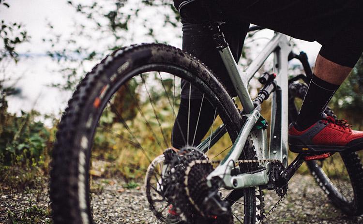 monocorona Sram sulla trail bike Habit