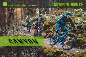 Canyon Neuron CF trail bike in carbonio per tutte le tasche