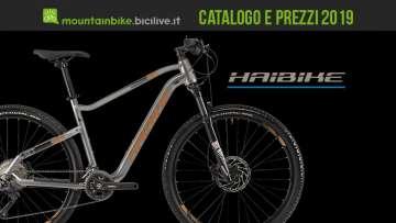 Mtb Haibike, catalogo e listino prezzi 2019