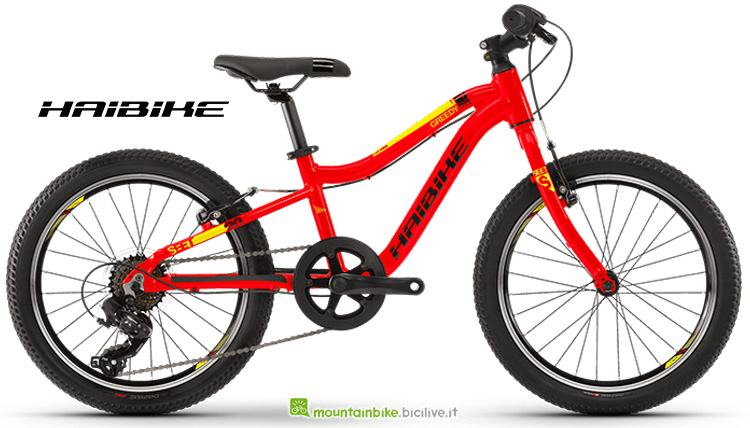 "Bicicletta Haibike SEET Greedy 20"" gamma 2019"