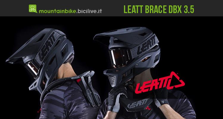 Collare di protezione MTB Leatt Brace Dbx 3.5 2019