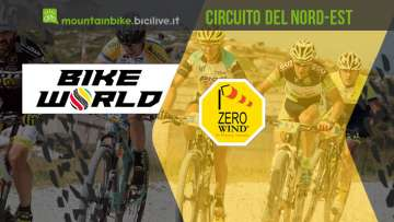 biker impegnati nel cirucito Bike World Zero Wind