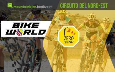 biker impegnati nel cirucito Bike World Zero Wind