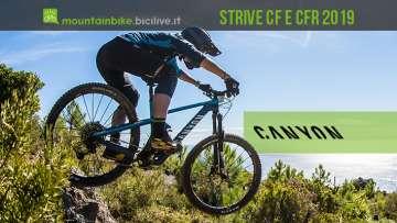 Canyon lancia le nuove Strive CF e CFR 2019 con Shapeshifter 2.0