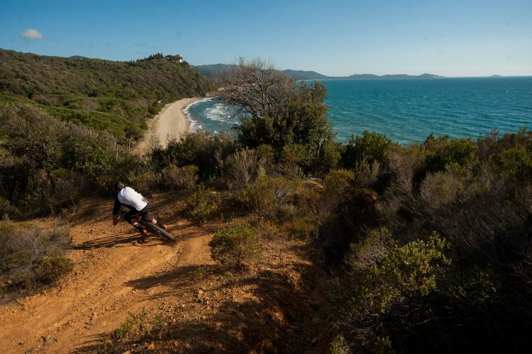 Punta Ala Trail Center natura trail downhill