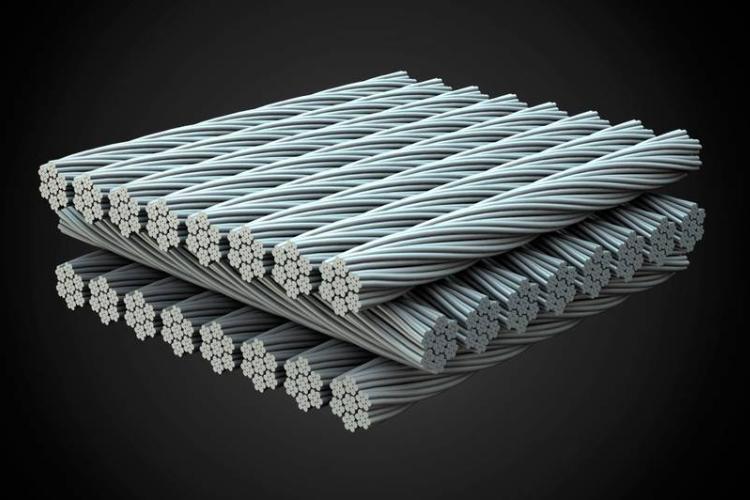 particolare della fibra di carbonio cube c:62