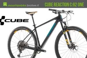 Cube Reaction C:62 One 2019 in carbonio