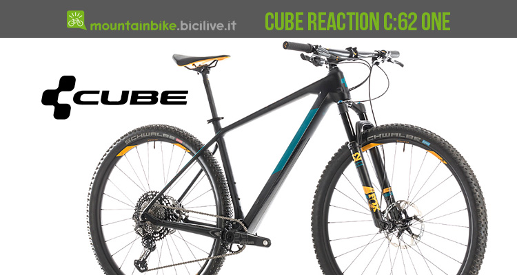 Cube Reaction C:62 One 2019 in carbonio