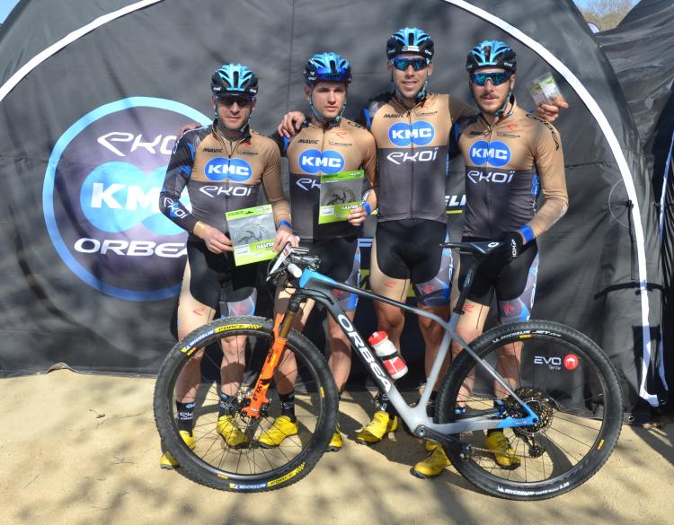 KMC-Ekoi-Orbea e Galfer Bike