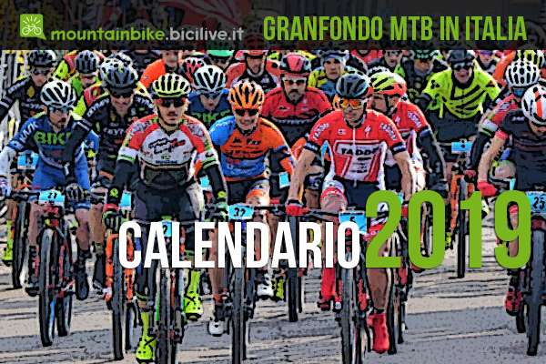 Calendario delle granfondo mtb 2019 in Italia