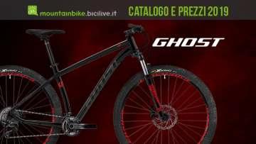 Catalogo e listino prezzi mtb Ghost 2019