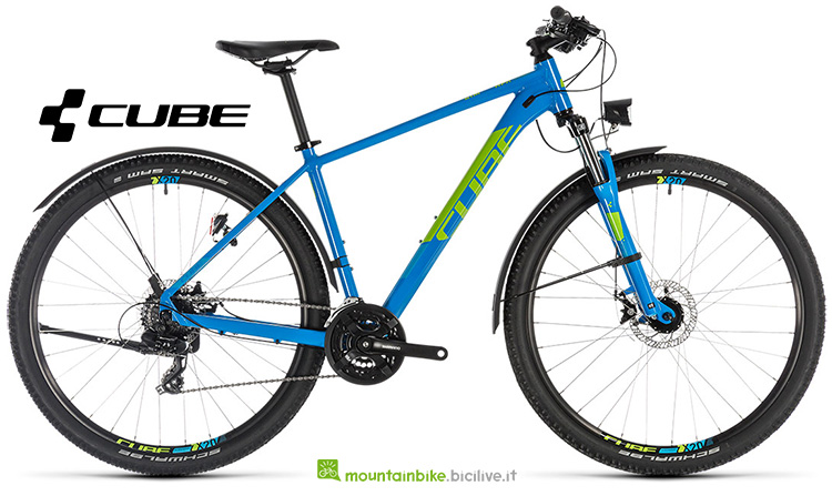 mtb Cube Aim Allroad blue'n'green catalogo 2019