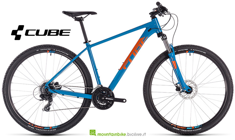 mtb Cube Aim Pro blue'n'orange gamma 2019
