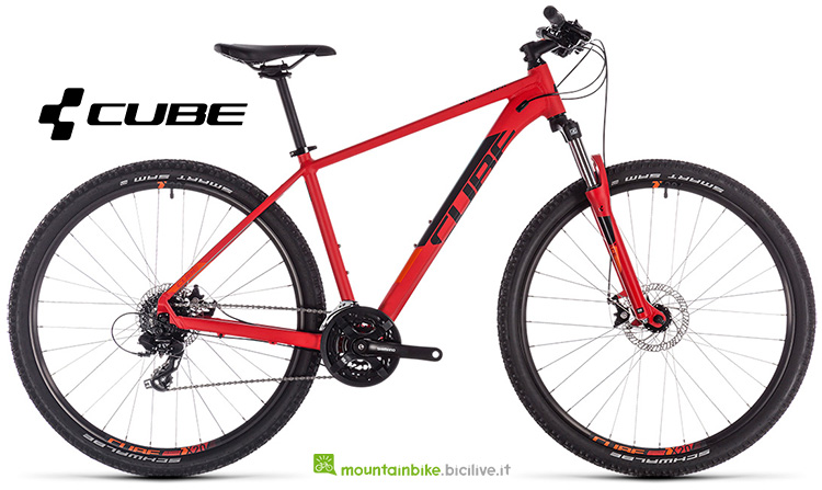 mountainbike Cube Aim red'n'orange catalogo 2019