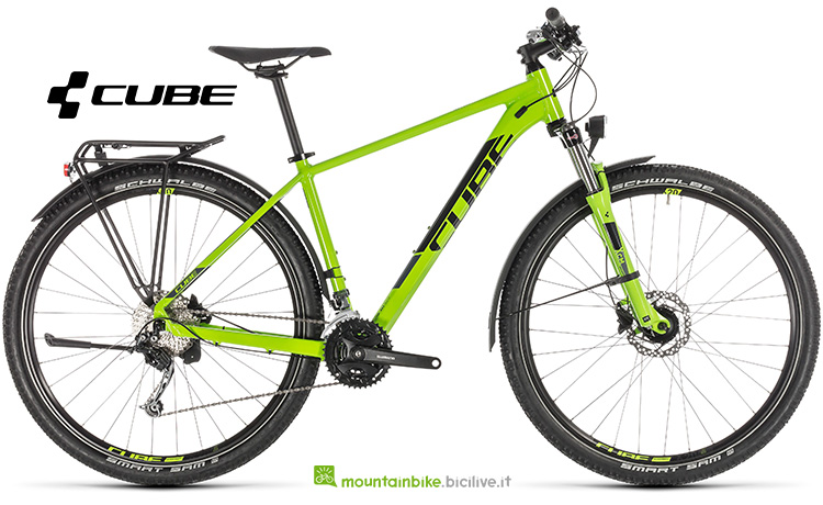 mtb Cube Aim SL Allroad green'n'black anno 2019