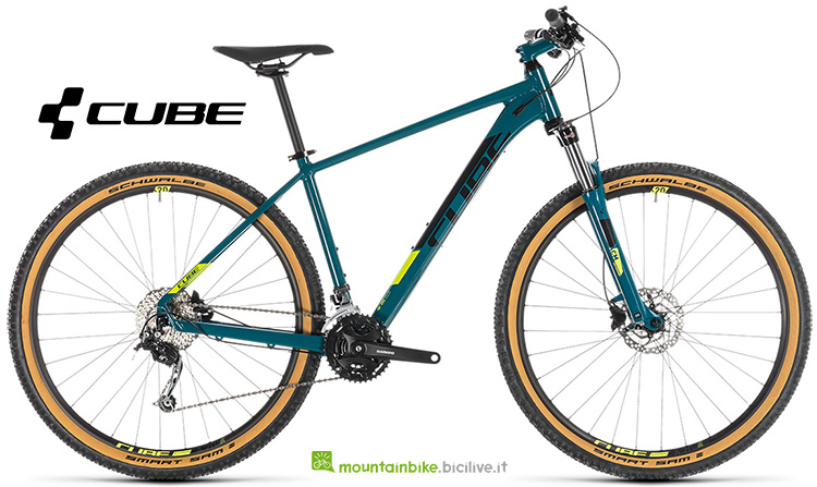 mtb Cube Aim SL pinetree'n'flashyellow anno 2019