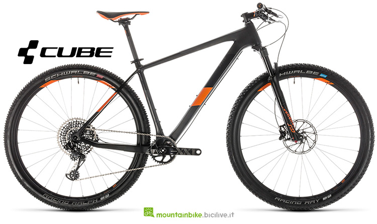 bici Cube Elite C:62 Race carbon'n'orange gamma 2019