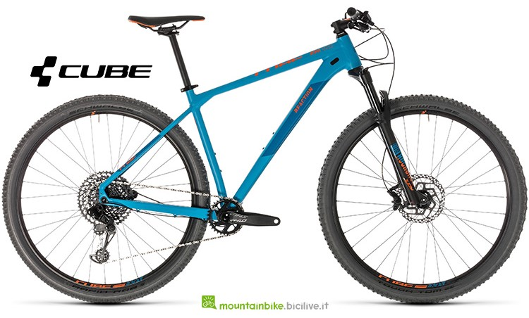 mountainbike Cube Reaction Race blue'n'orange anno 2019