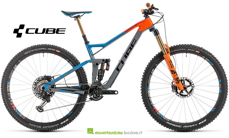 Bicicletta Cube Stereo 150 Action Team gamma 2019