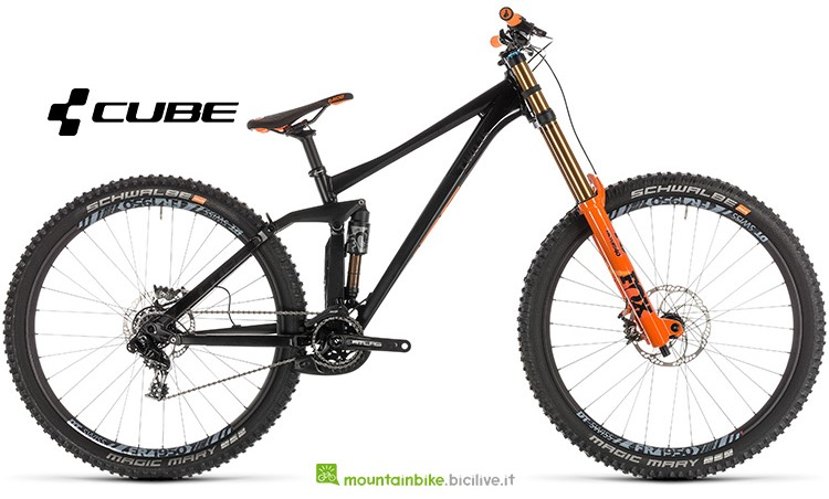 mountainbike Cube TWO15 SL black'n'orange gamma 2019