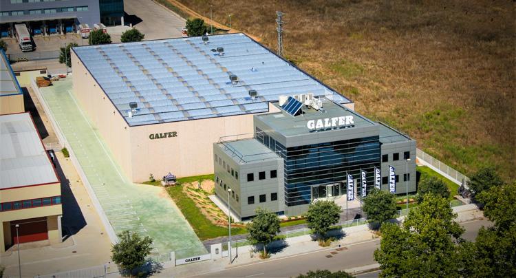 foto aerea dell'azienda Galfer