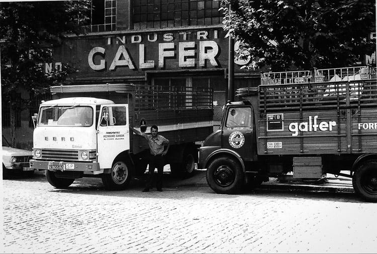 foto d'epoca della azienda galfer