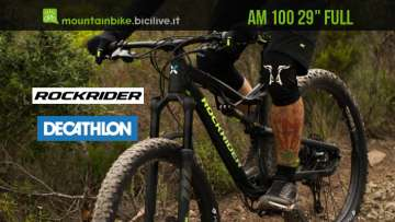 "Rockrider AM 100 29"" 2019: la nuova mtb all mountain di Decathlon"
