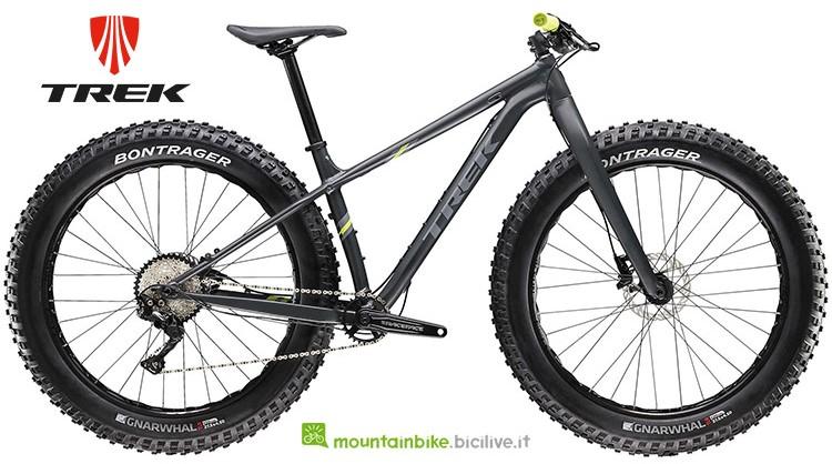 Bici fat Trek Farley 5 gamma 2019