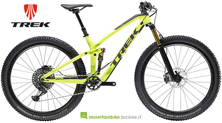 Bici Trek Top Fuel ex 9.7 anno 2019