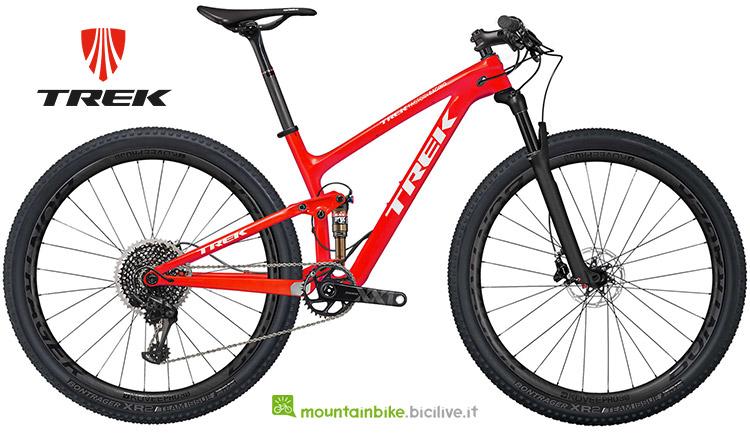 mountainbike Trek Top Fuel 9.9 SL catalogo 2019