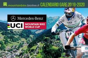 Calendario gare Mercedes-Benz UCI Mountain Bike World Cup 2019 e 2020